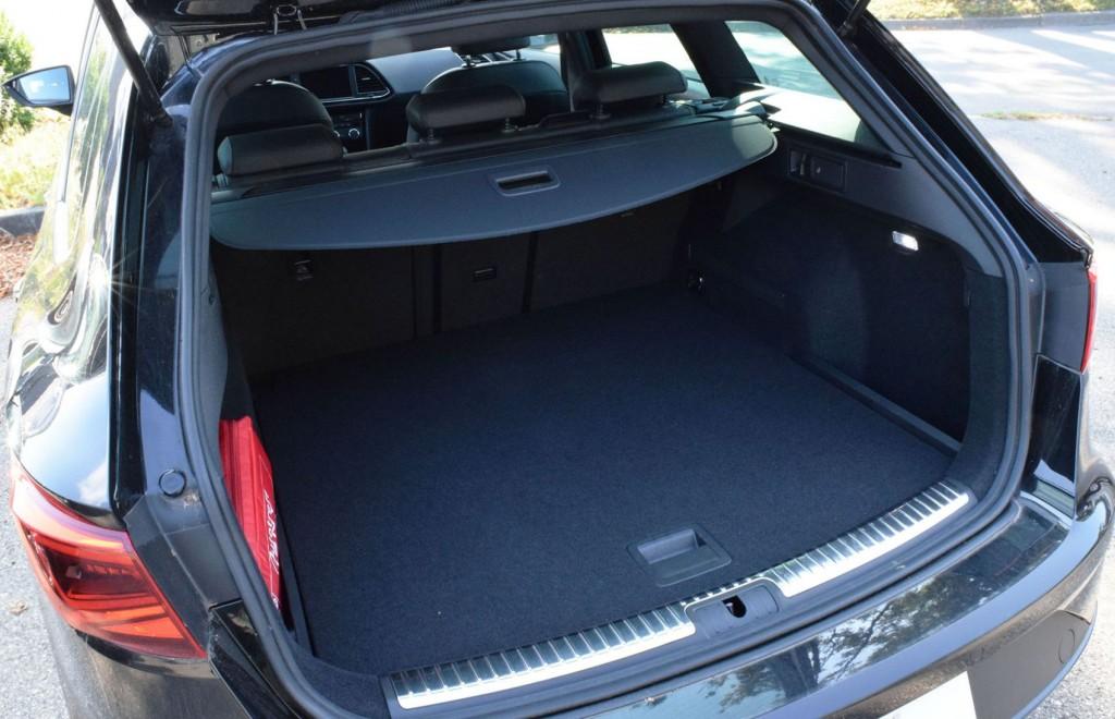 Seat Leon ST FR Kofferraum